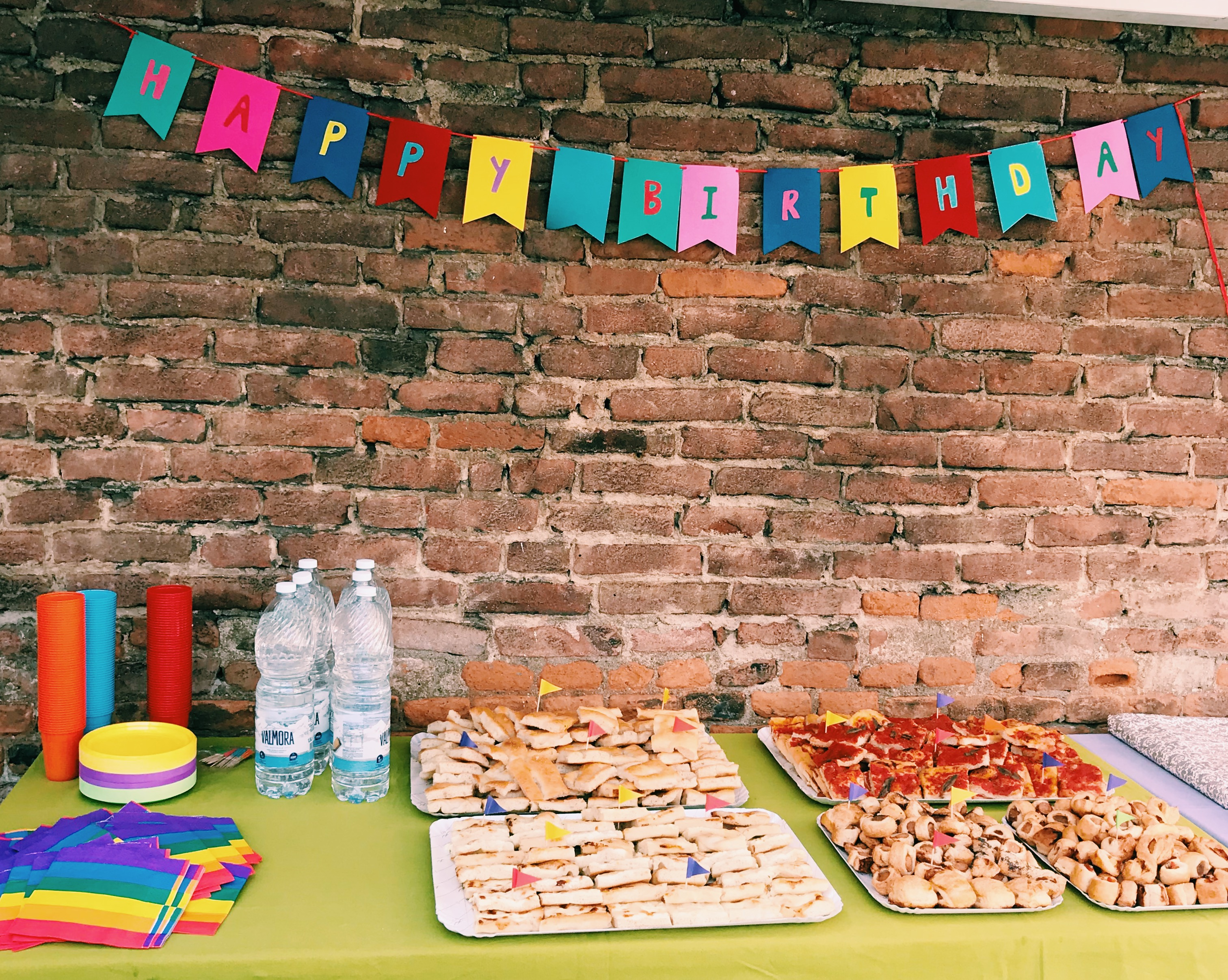 baby party di compleanno