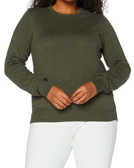 Shopping abbastanza sobrio per l'Autunno Inverno 2020 girocollo cotone