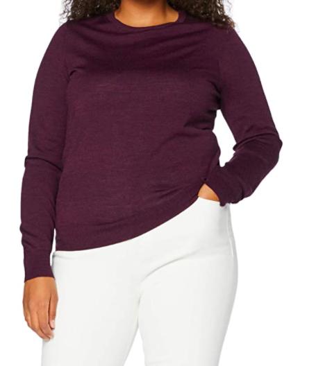 Shopping abbastanza sobrio per l'Autunno Inverno 2020 maglione girocollo